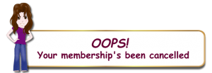 Membership Cancelled