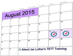 Jan Luther's TETT Training