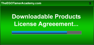 Download License Agreement-Personal