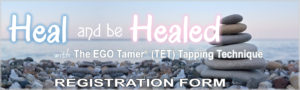 Heal and Be Healed Registration Form