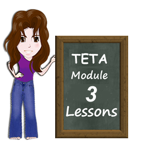 TETA Module 3 Lessons